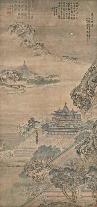 YUAN JIANG (ACTIVE 1690-1739)