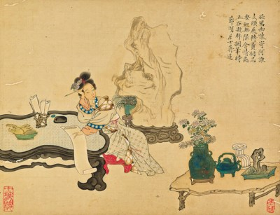 JIANG LIAN (18TH -19TH CENTURY