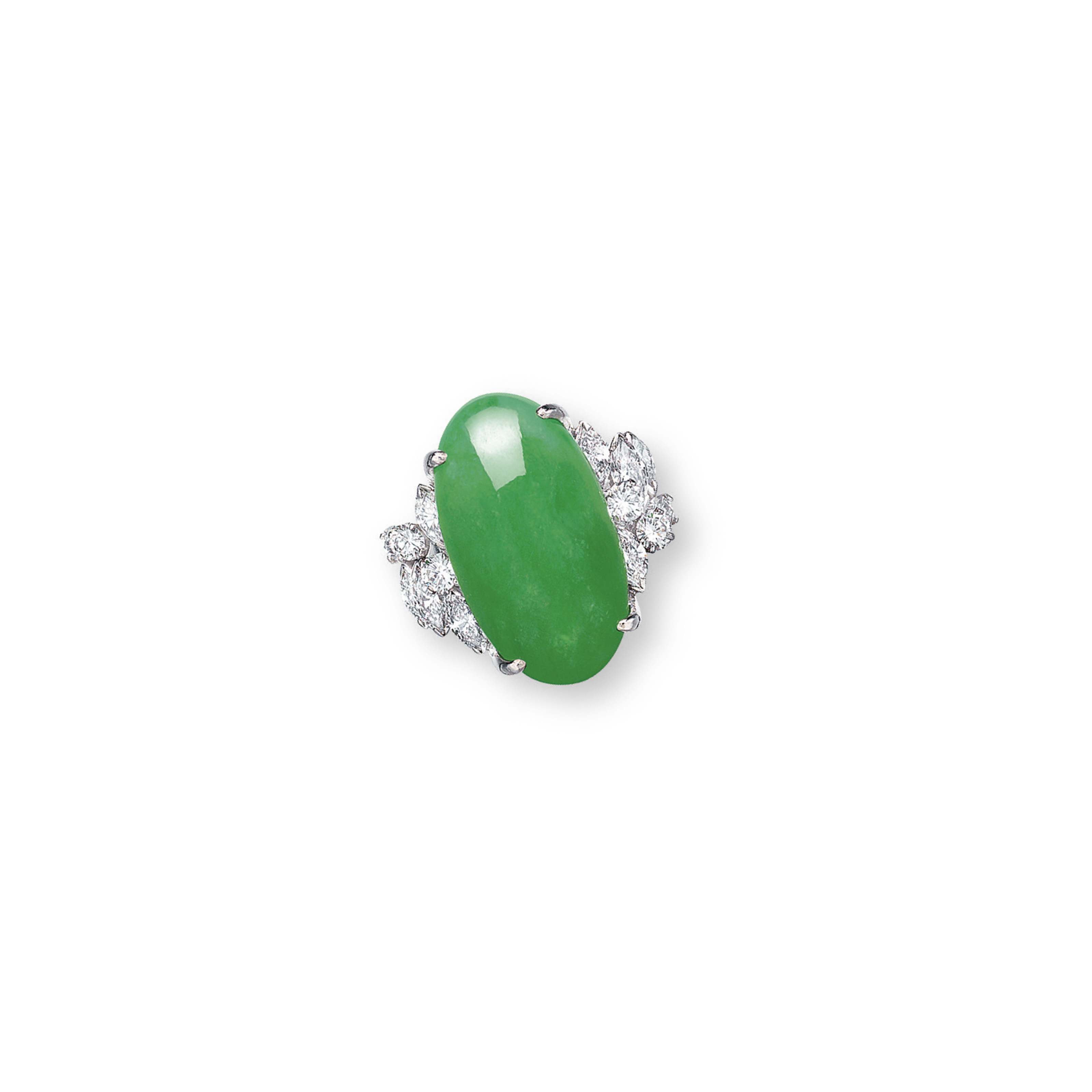 5d0964e6162f3 A JADEITE AND DIAMOND RING | ring, diamond | Christie's