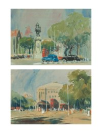 Untitled (Kala Ghoda, Mumbai); Untitled (Sir Cowasji Jehangir Hall, Mumbai)