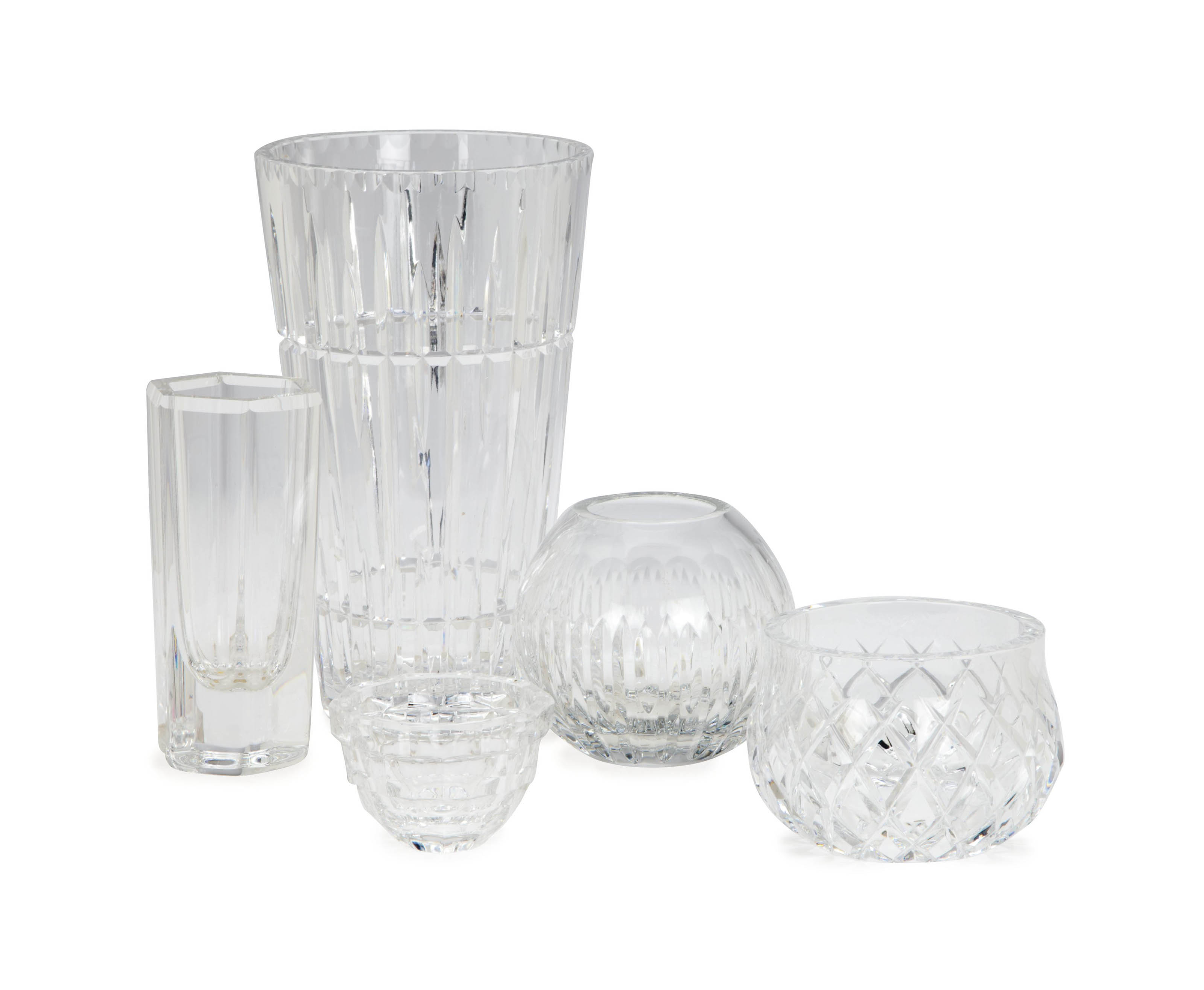 A GROUP OF CONTINENTAL GLASS WARES,