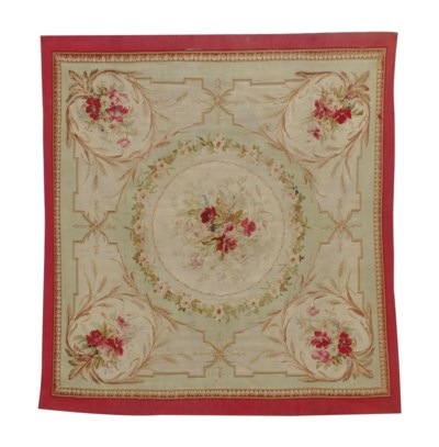 A FRENCH AUBUSSON TAPESTRY,