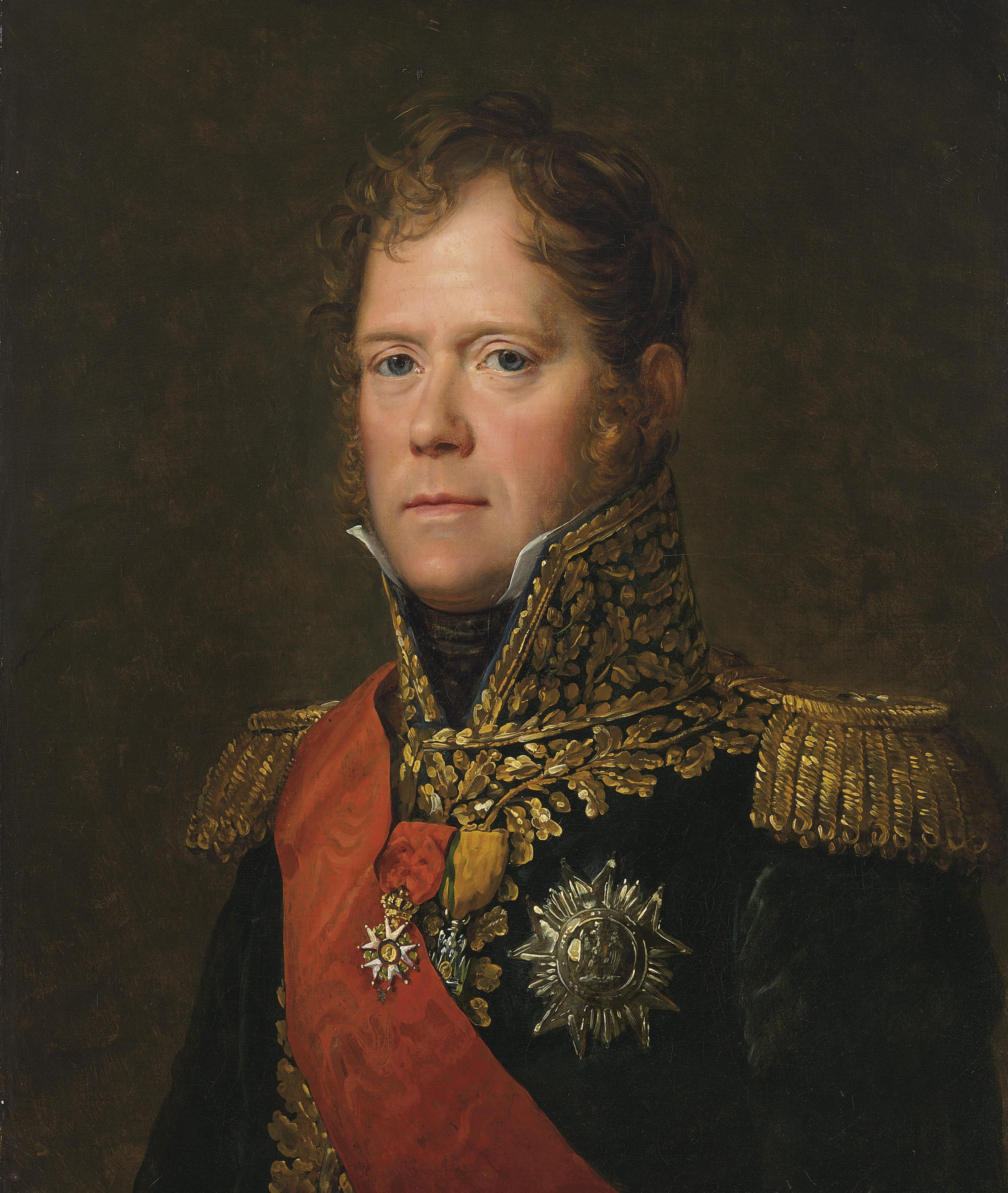 Portrait of Michel Ney, Marshall of the French Empire, Duc of Elchingen, Prince of Moscow