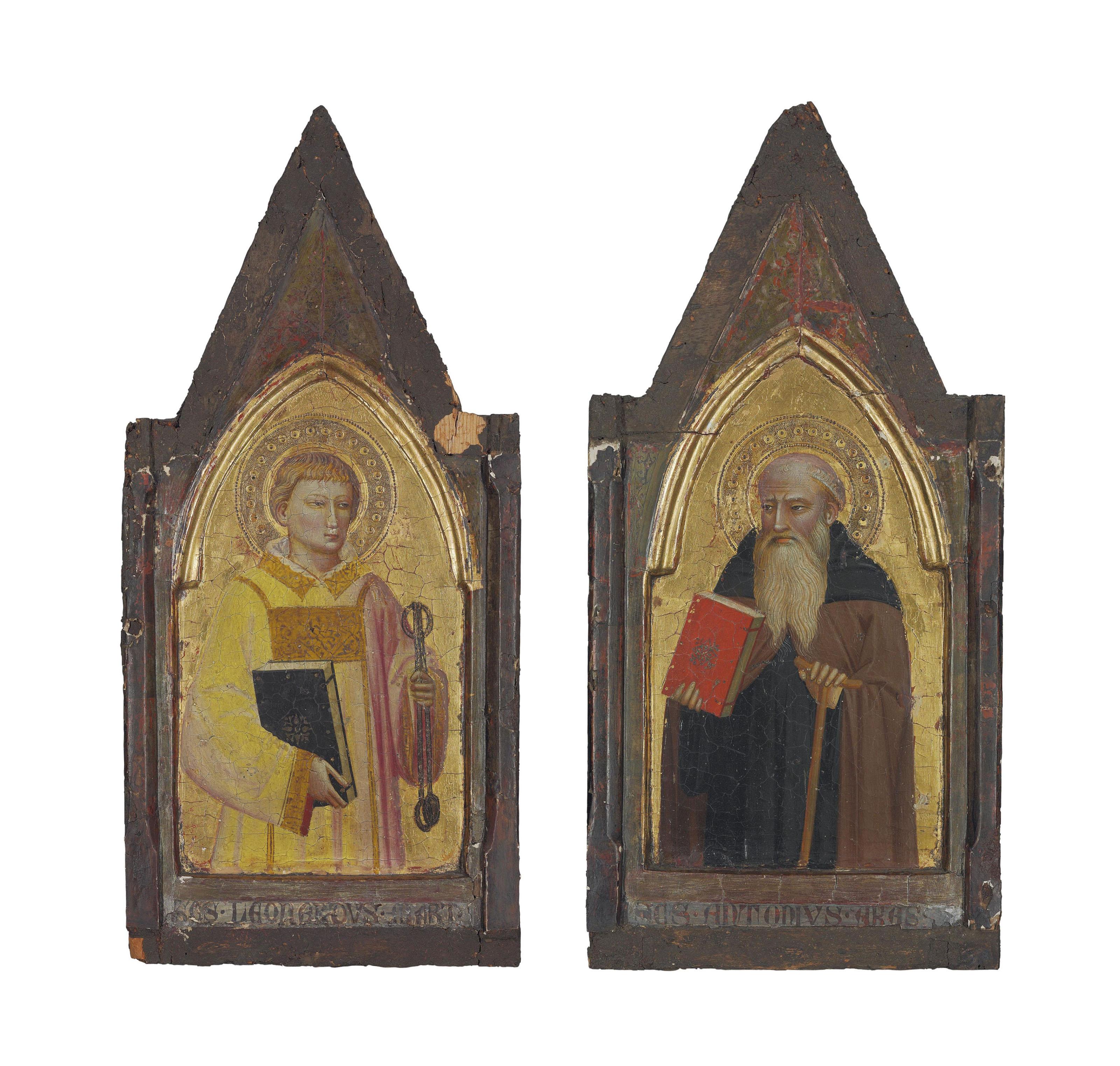 Saint Leonard of Noblac; and Saint Anthony