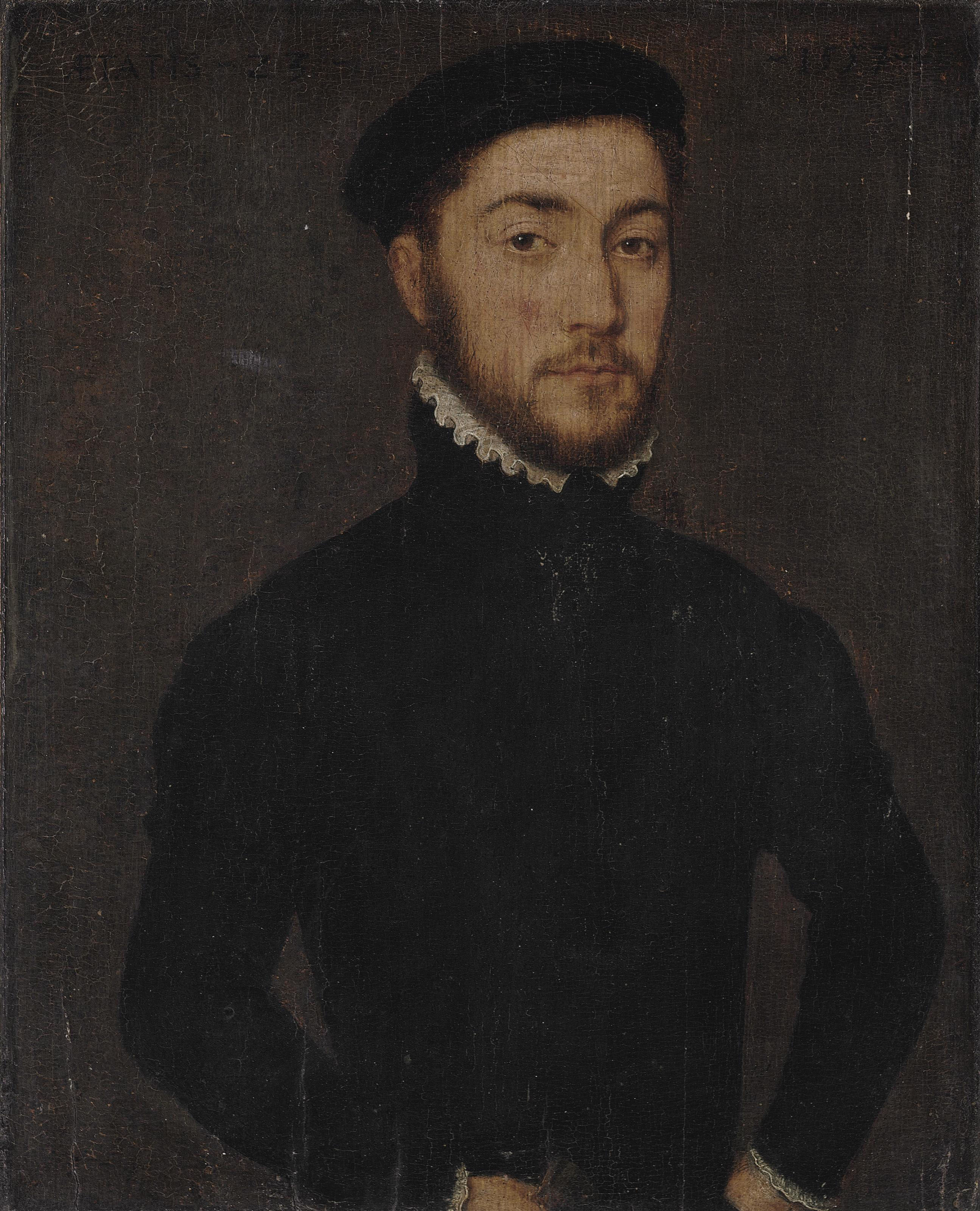 Portrait of a gentleman, aged 23, half-length