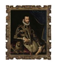 Portrait of Jacopo Boncompagni, three-quarter length, in armor