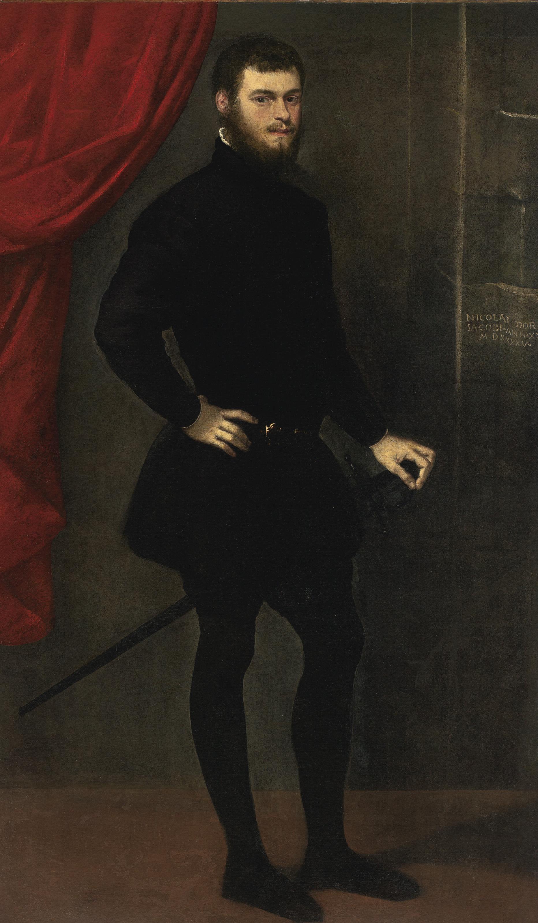 Portrait of Nicolò Doria