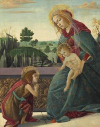 'The Rockefeller Madonna': Madonna and Child with Young Saint John the Baptist