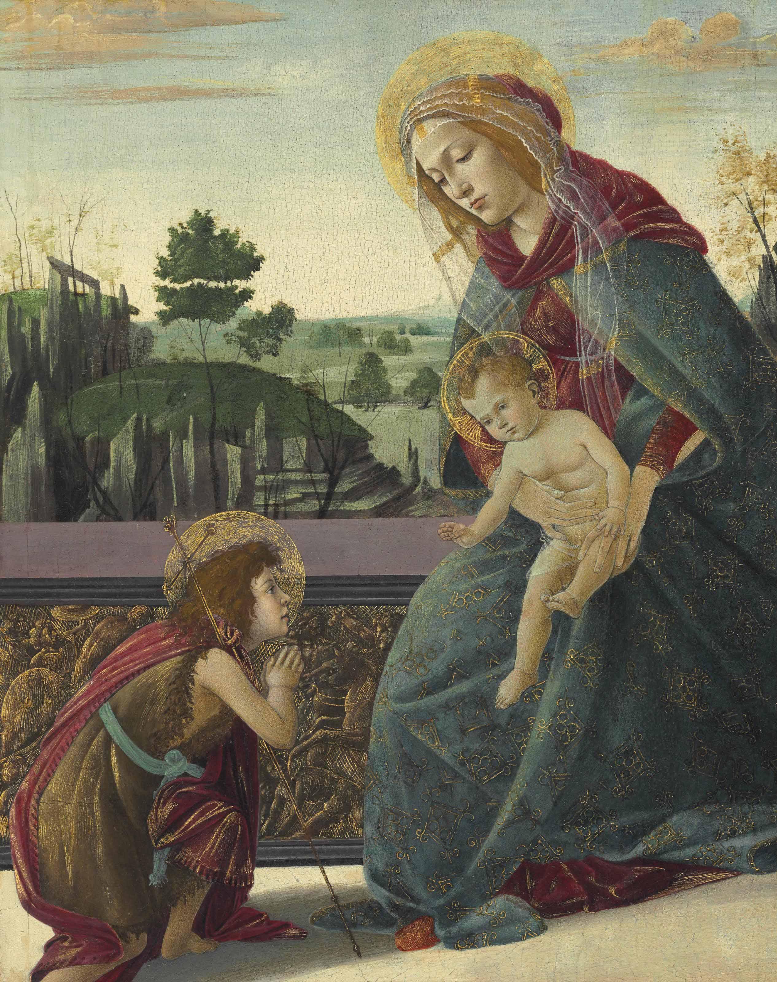 Alessandro Filipepi, called Sandro Botticelli (Florence 1444/45-1510)