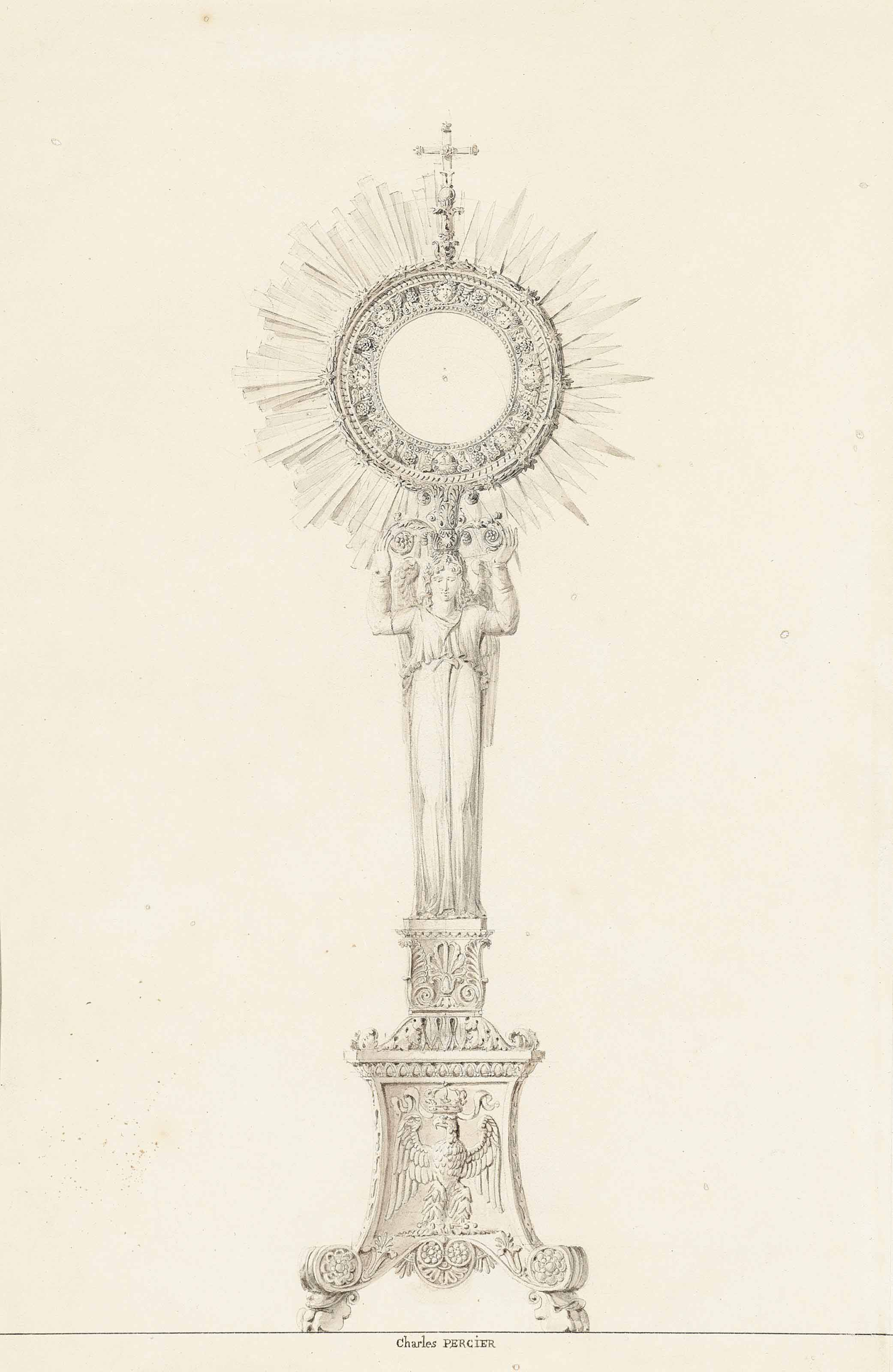 An ostensory designed for the coronation of Napoleon