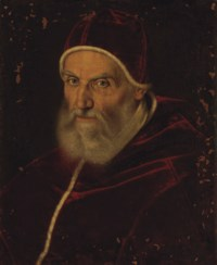 Portrait of Pope Gregory XIII, bust-length