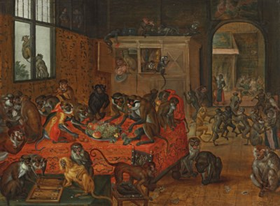 Circle of Jan van Kessel I (An