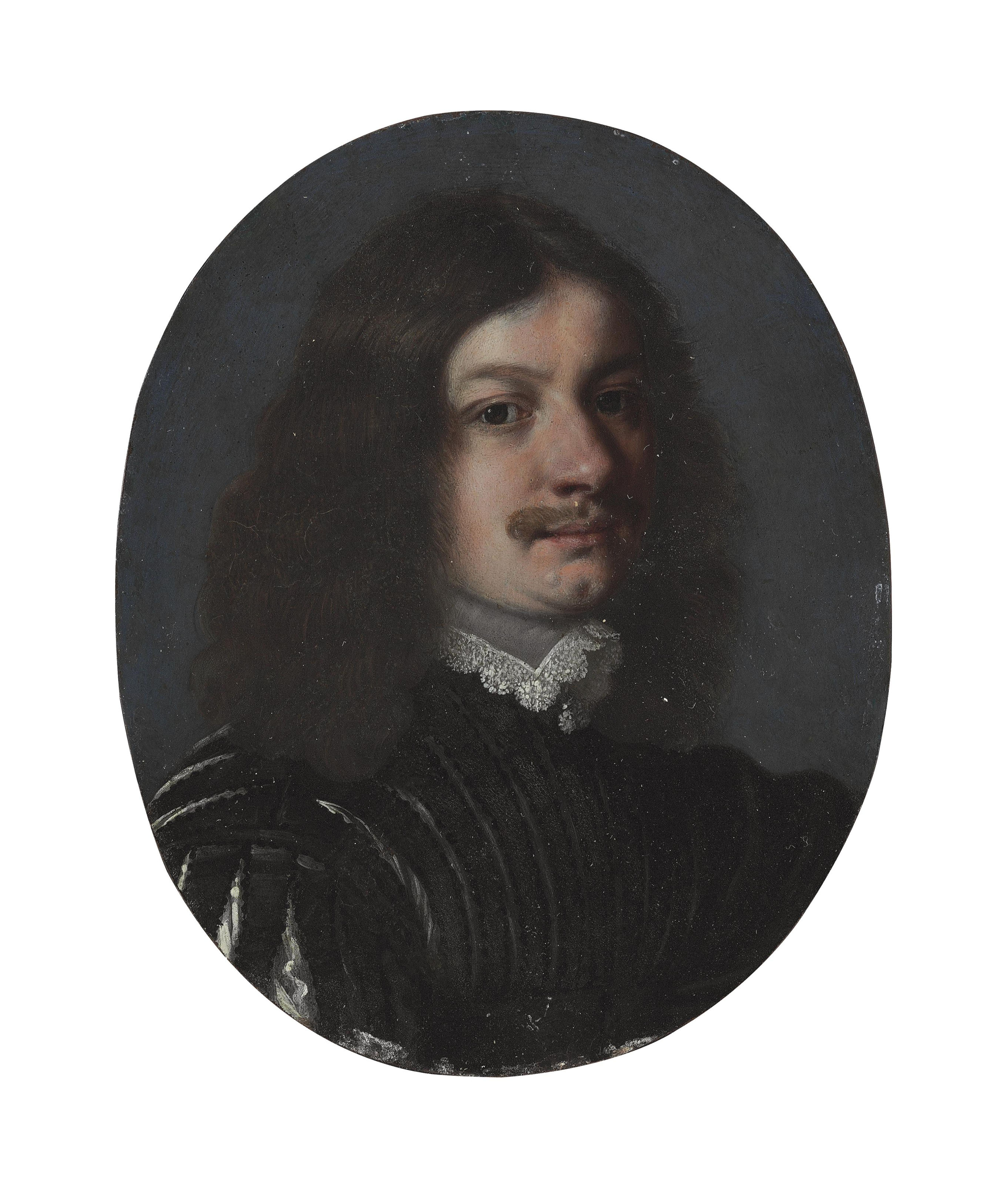 A portrait of a gentleman, bust-length