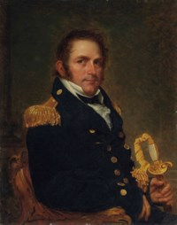 Portrait of a naval officer, half-length, possibly Charles Goodwin Ridgely (1784-1848)
