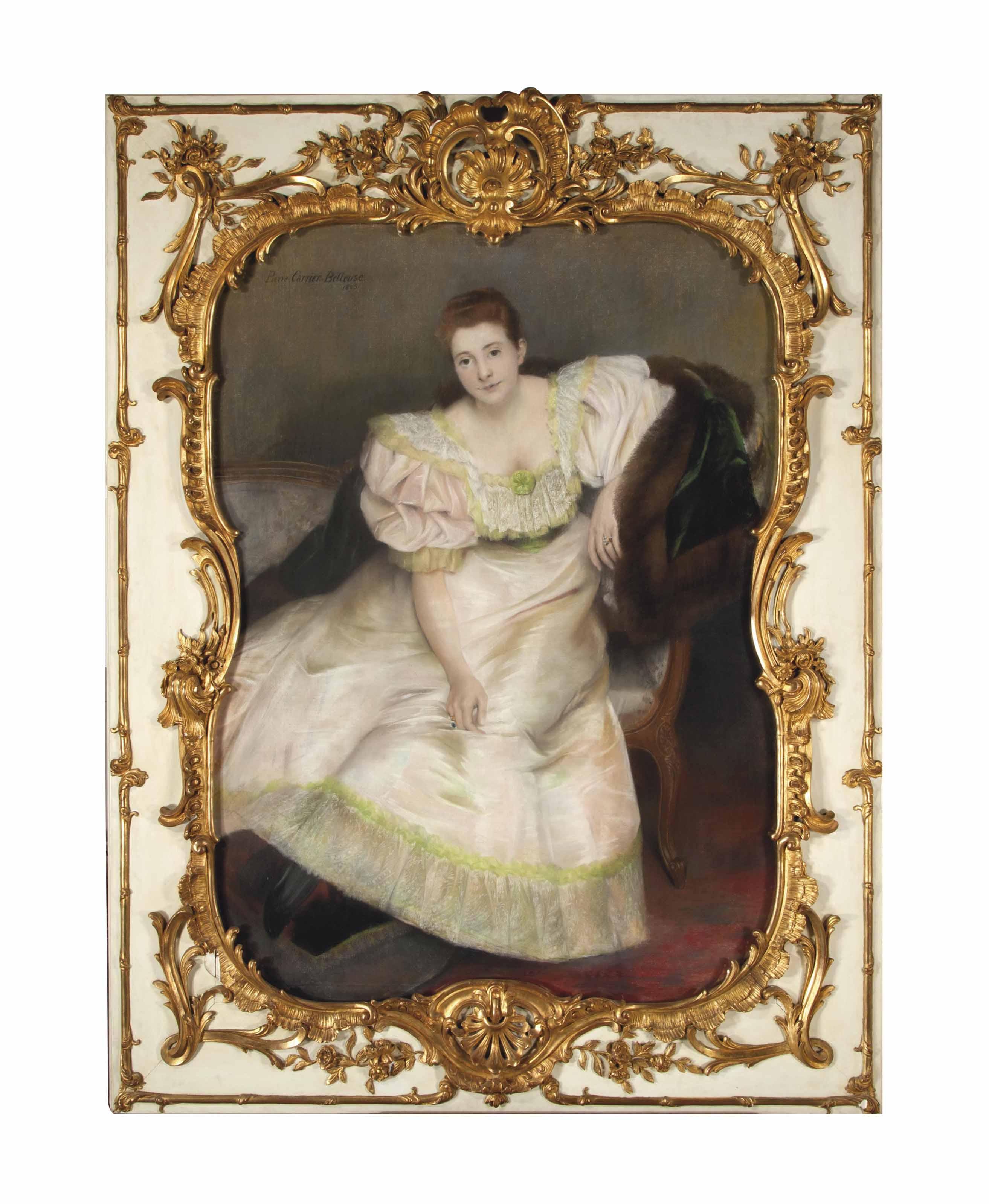 Portrait of Dutchess de G.