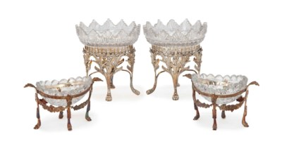 A PAIR OF GEORGE III-STYLE AND