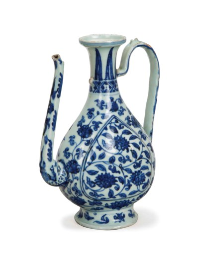 A CHINESE BLUE AND WHITE MING-