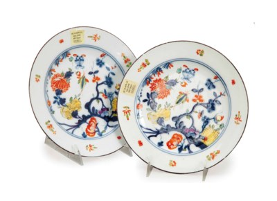 TWO GERMAN PORCELAIN 'ASTMUSTE