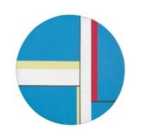 Blue Tondo