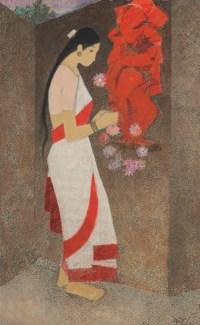 Untitled (Woman and Ganesha)