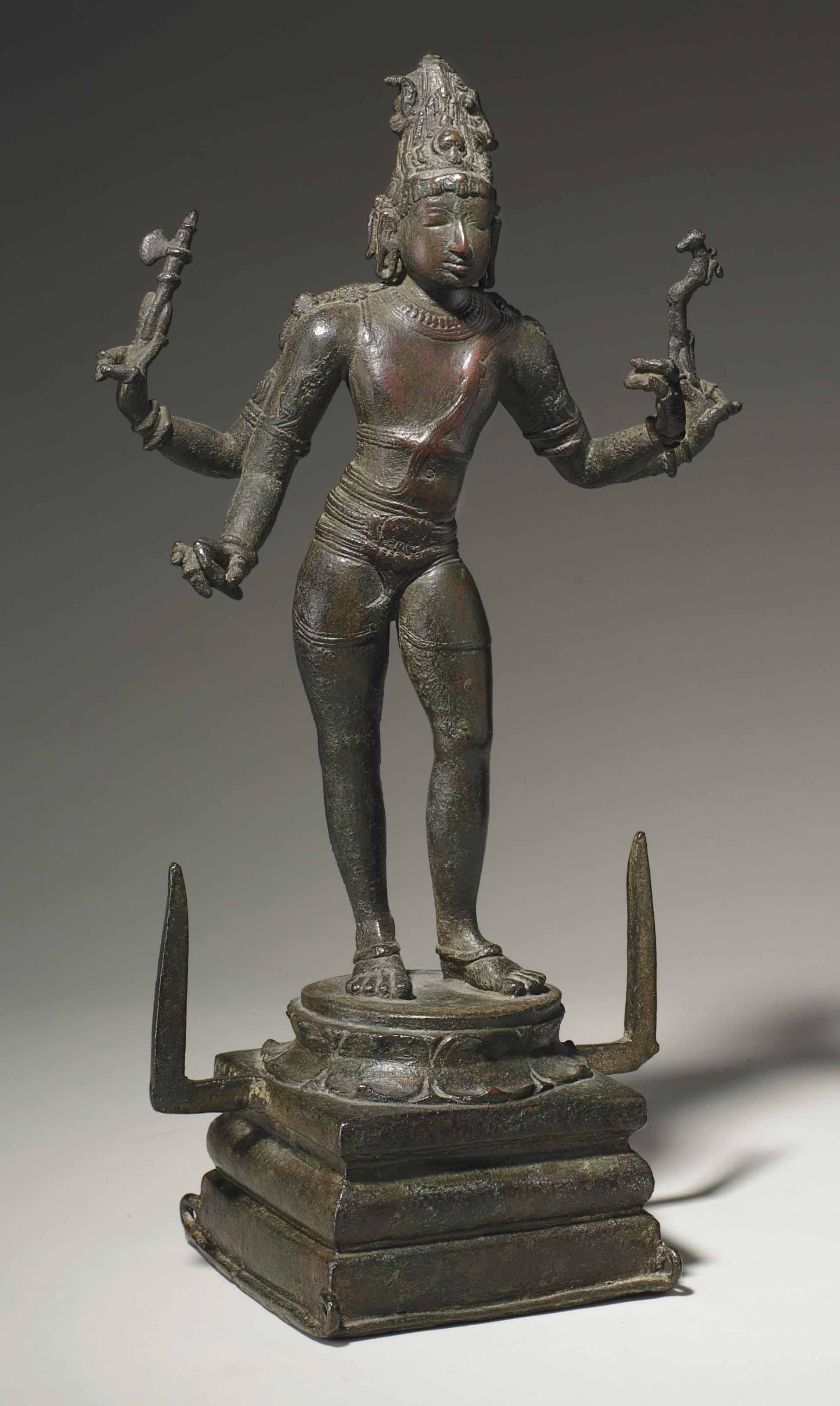A bronze figure of Shiva Vinadhara Dakshinamurti | SOUTH INDIA, CHOLA  PERIOD, LAST QUARTER 10TH CENTURY FIRST QUARTER 11TH CENTURY | Sculptures,  Statues & Figures, figure | Christie's