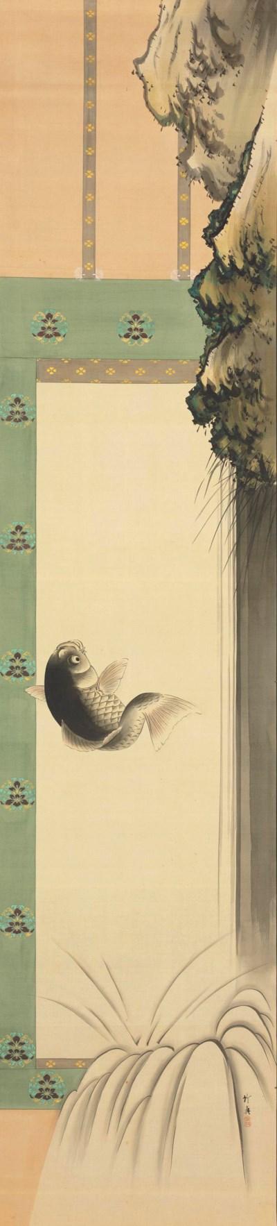 Shoji Chikushin (1854-1936) an