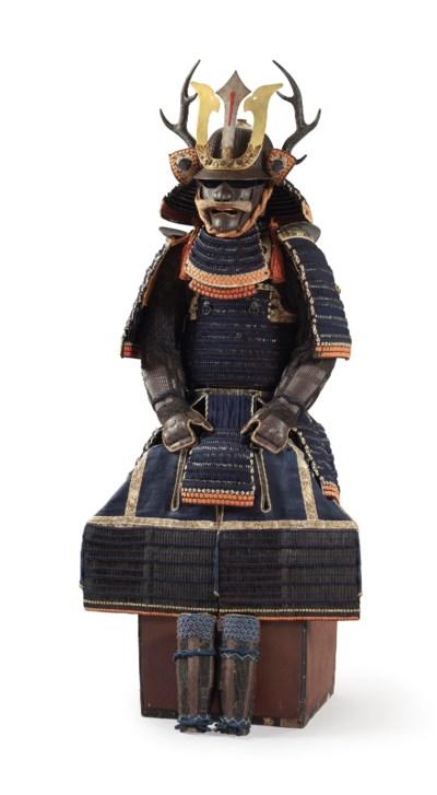 A blue-laced NIMAI-DO GUSOKU (