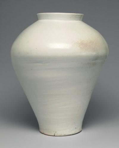 A Rare Massive White Porcelain