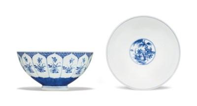 A BLUE AND WHITE BOWL, LIANZI