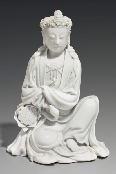 A DEHUA FIGURE OF GUANYIN