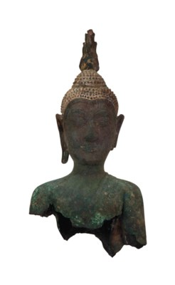 A SOUTHEAST ASIAN BRONZE FIGUR