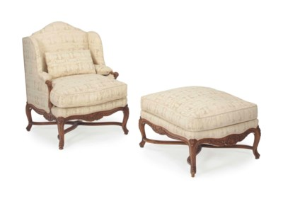 A LOUIS XV STYLE STAINED BEECH