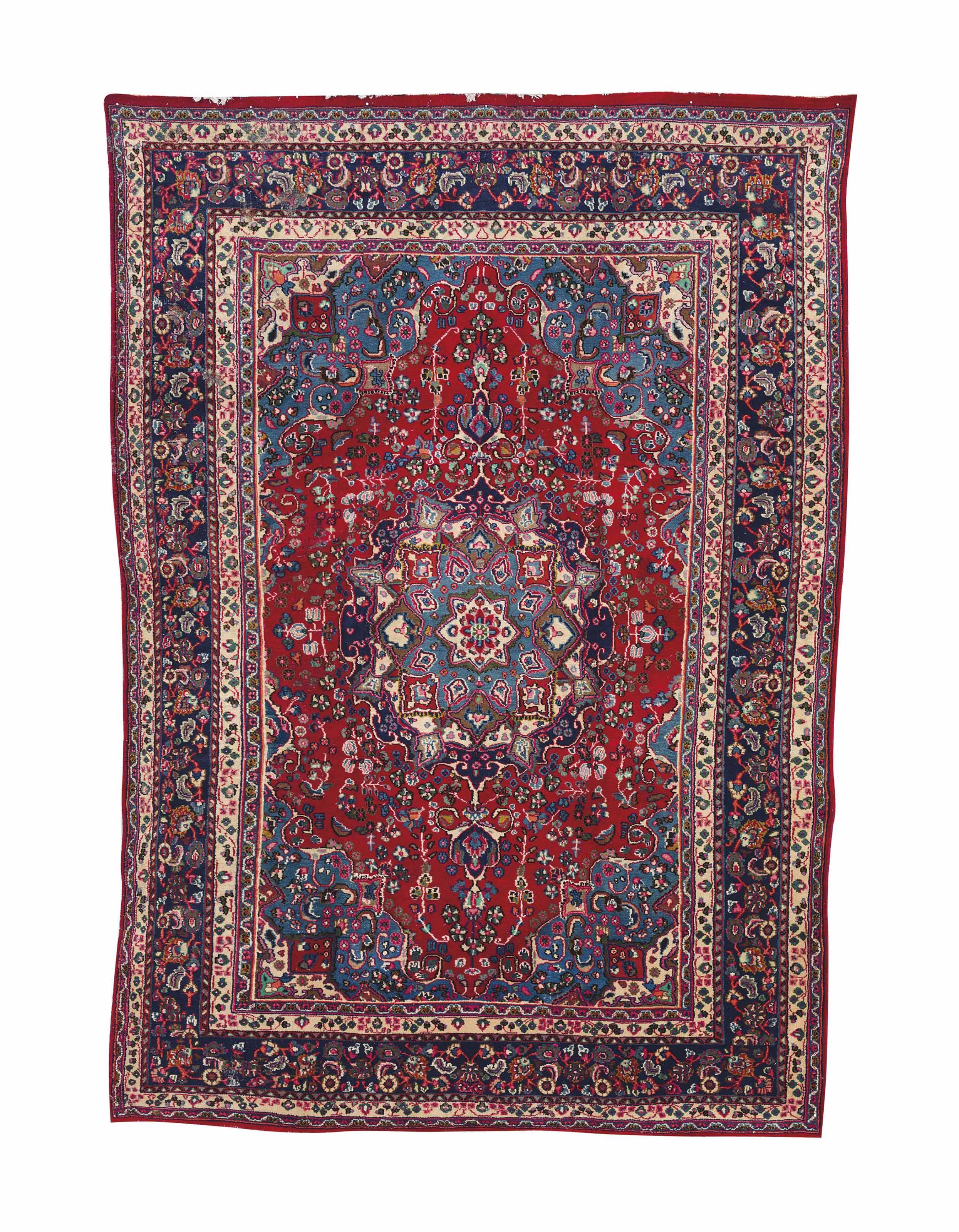 A PERSIAN CARPET,