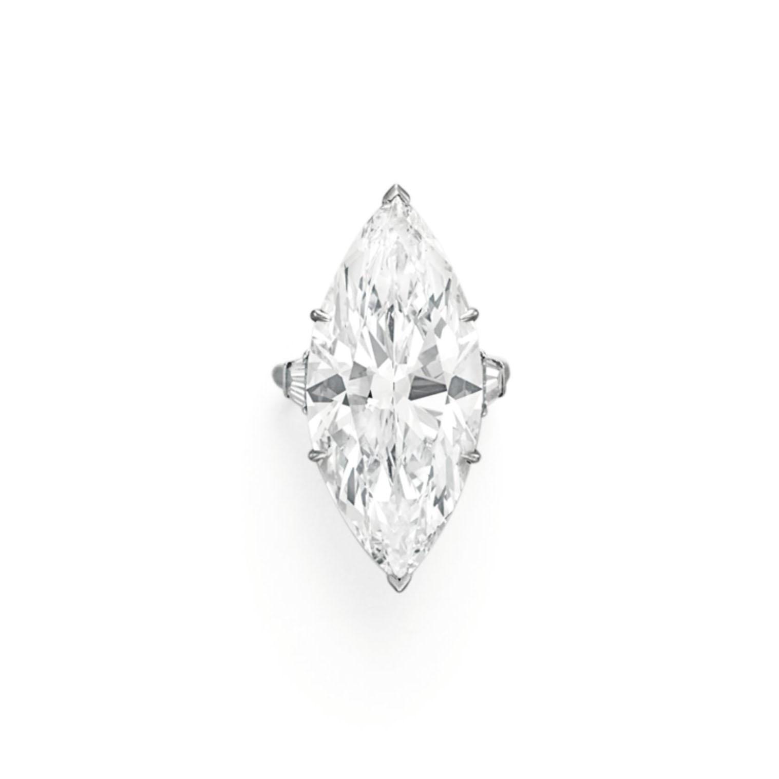 A DIAMOND RING, BY HARRY WINSTON