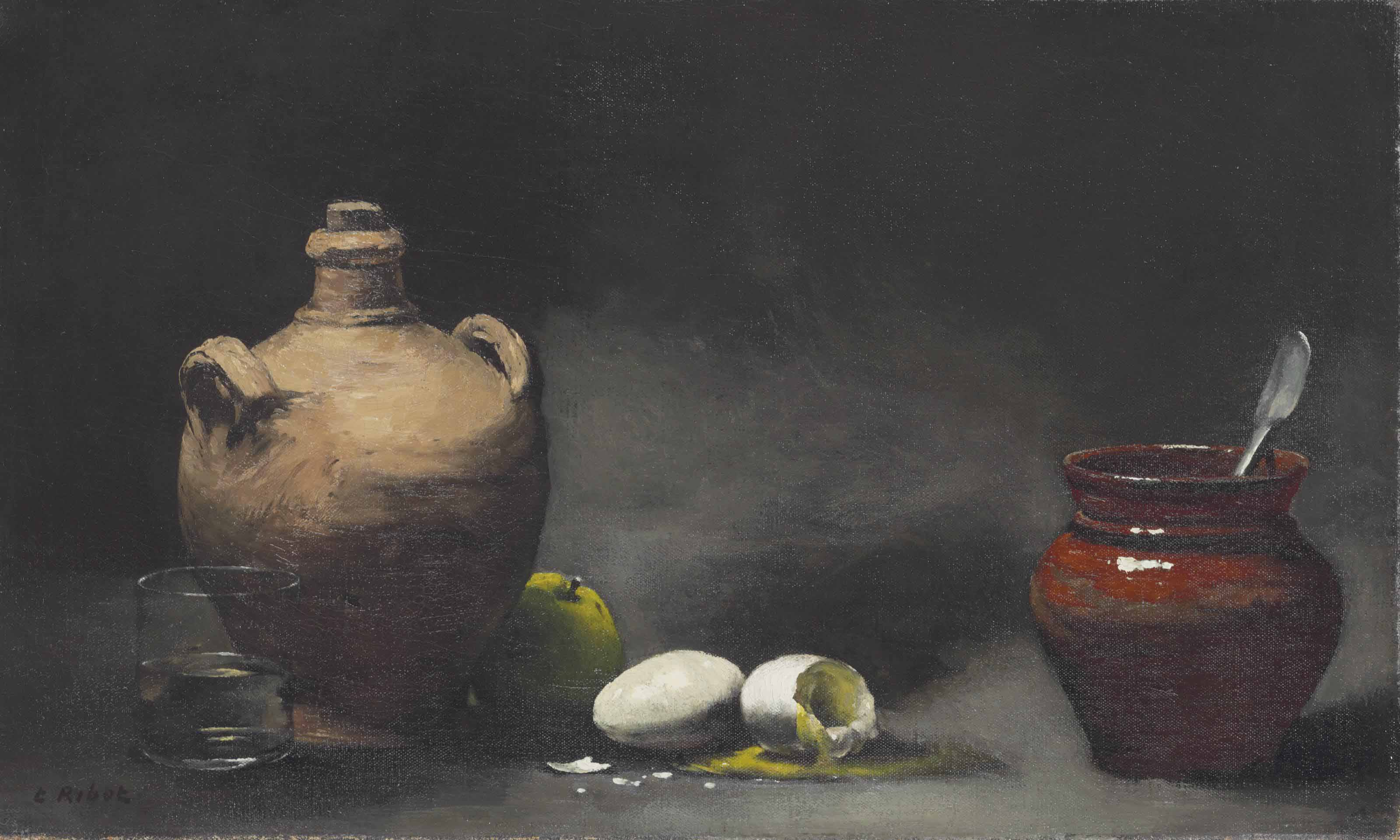 Still Life with Jugs and Eggs