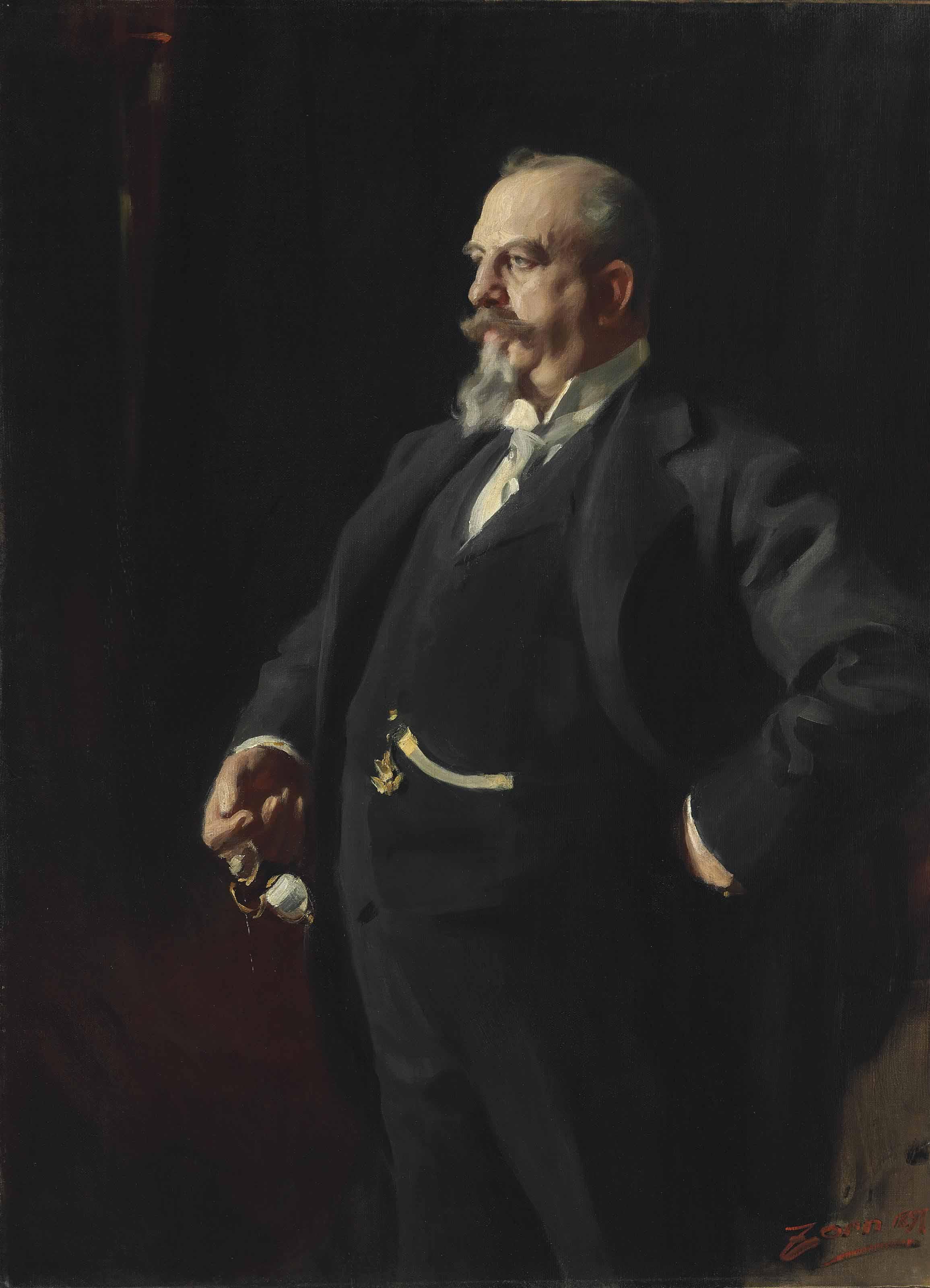 Portrait of Adolphus Busch