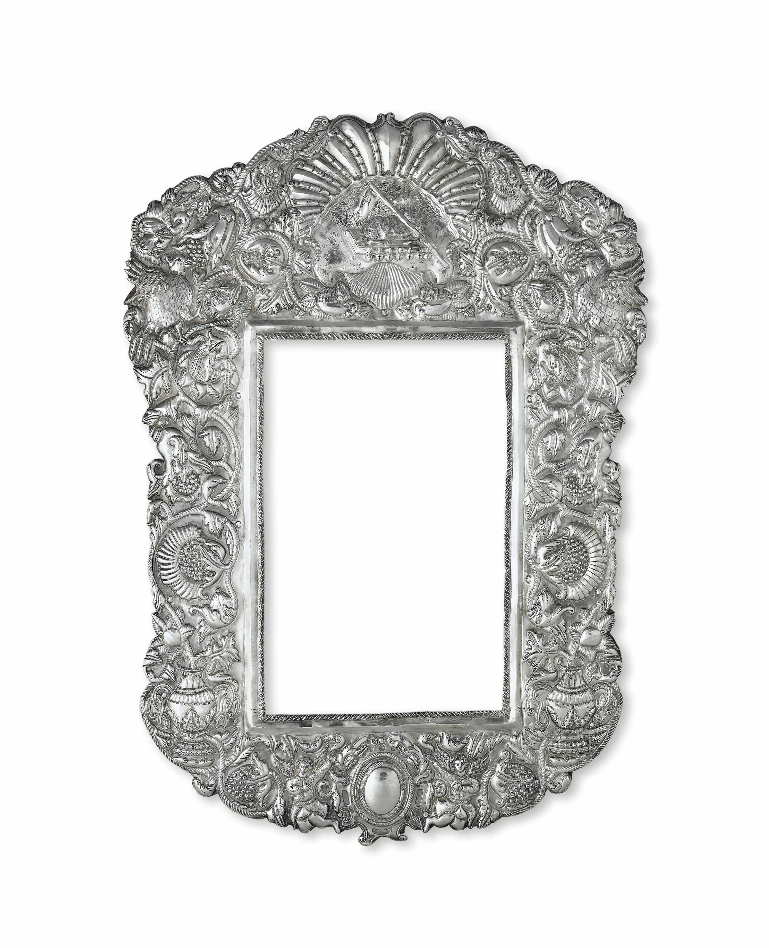 A SPANISH COLONIAL SILVER FRAME | ALTO PERU, LATE 18TH - EARLY 19TH ...
