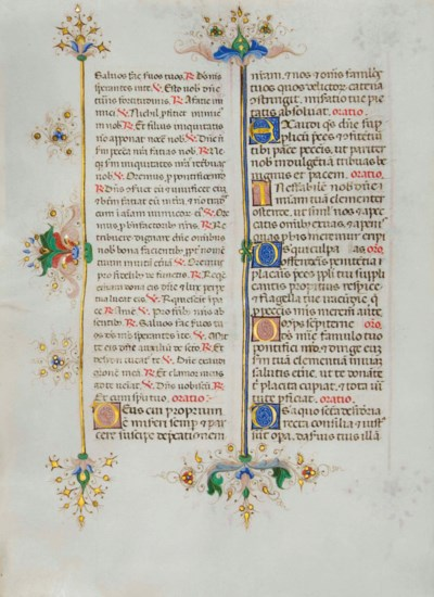 BREVIARY -- LEAF FROM THE LLAN