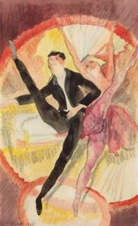 In Vaudeville: Two Dancers