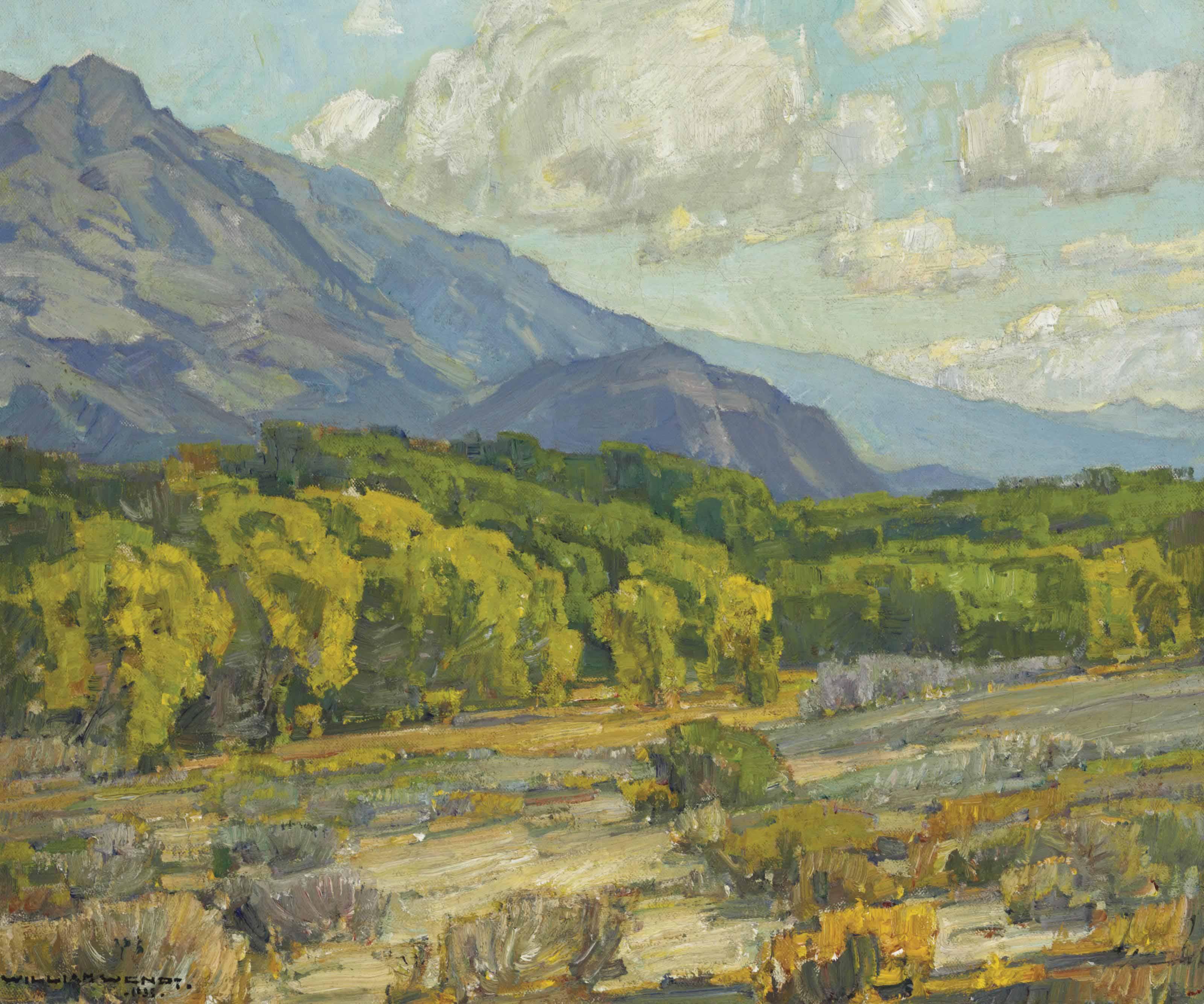 Willows at the River Brink