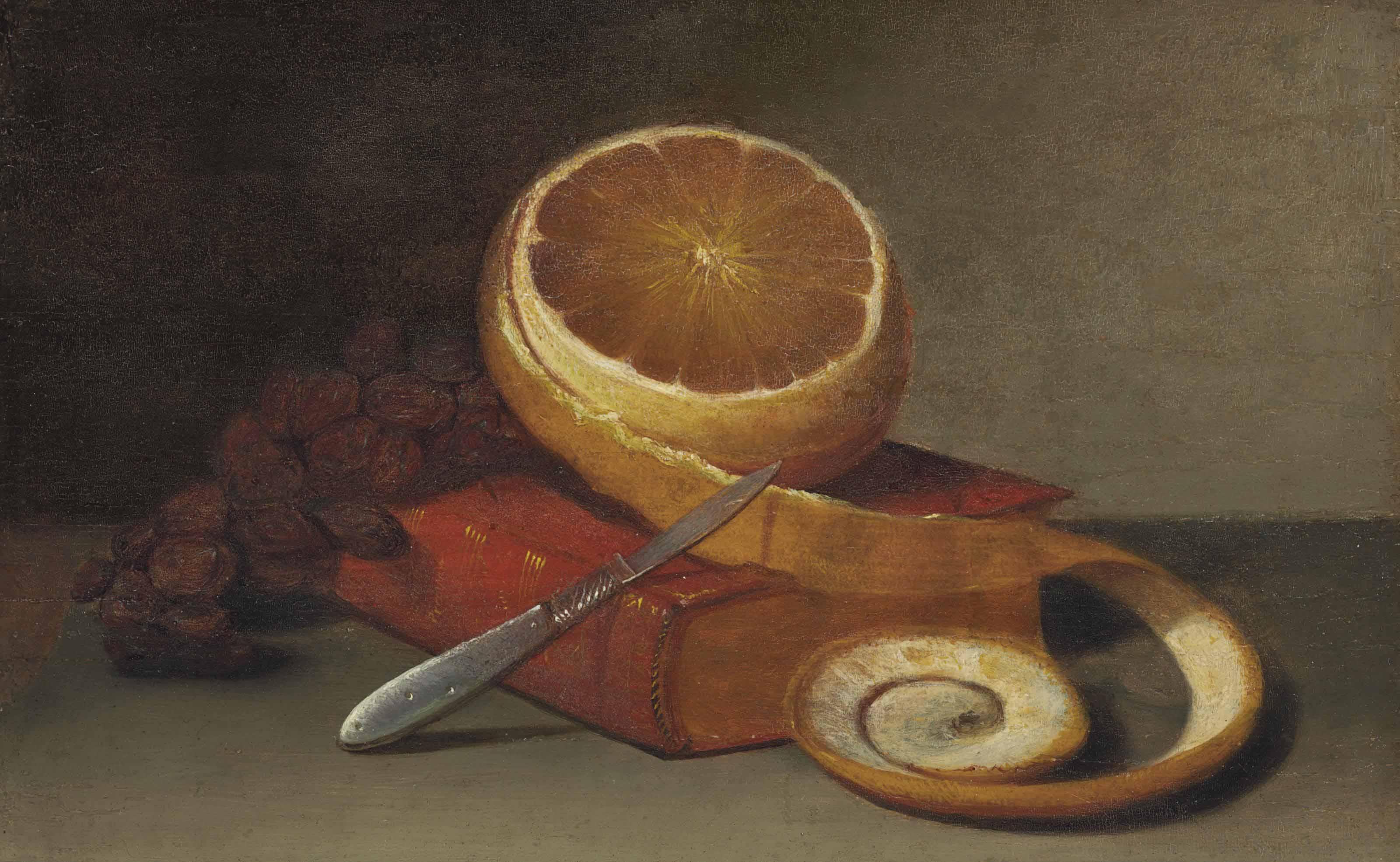 Orange and Book