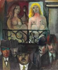 Mulheres no balcão