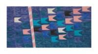 Bandeirinhas horizontais com mastro (No. 1330)