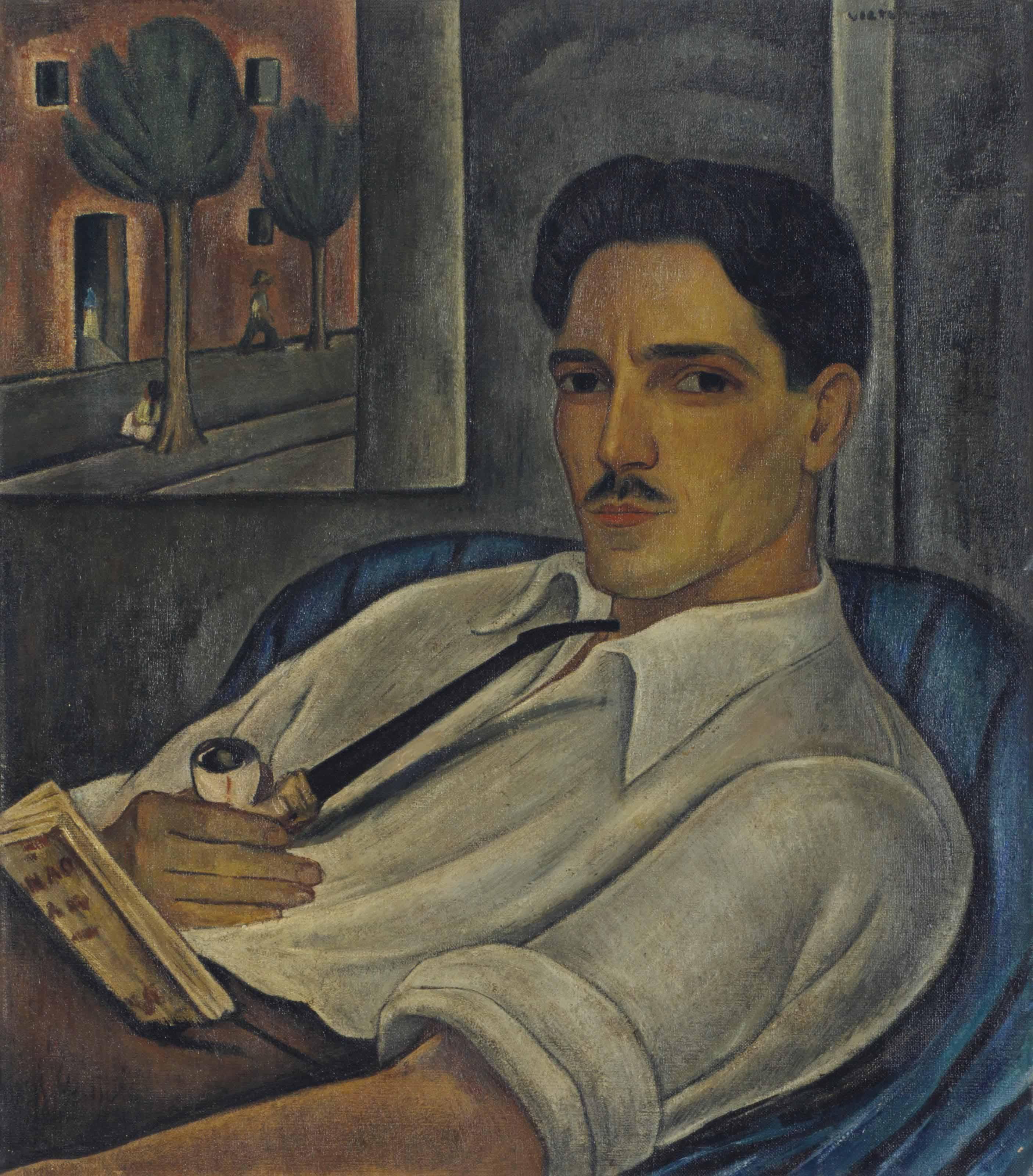 Portrait of the French Engraver Elié Marquié