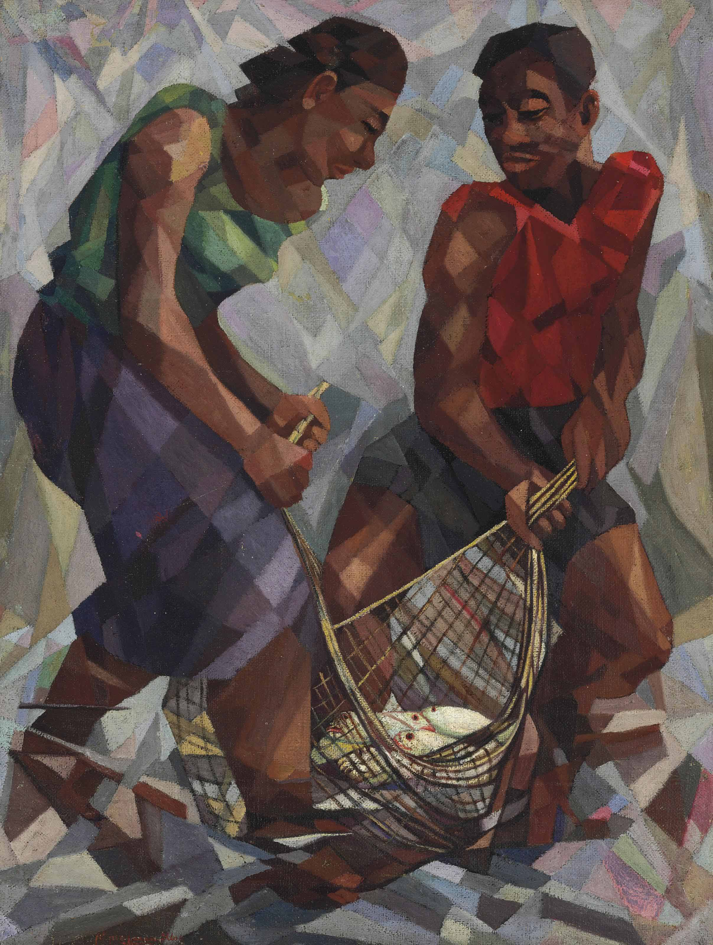 Untitled (Fishermen)