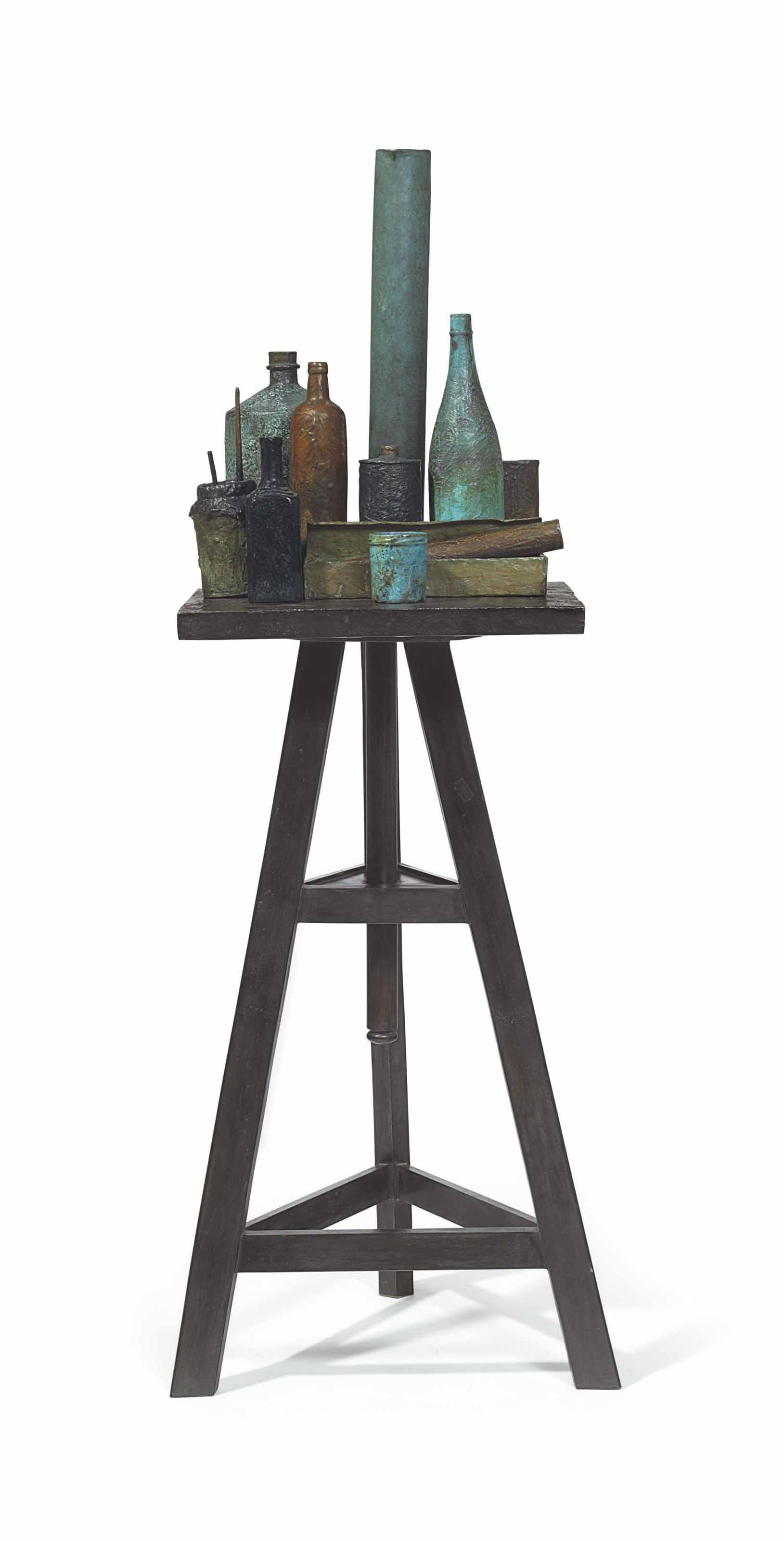 Still Life No. 7 (Sculptor's Turntable)