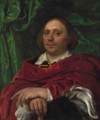 Portrait of a gentleman, half length