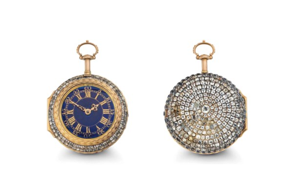 Magson. An 18k Gold and Paste-