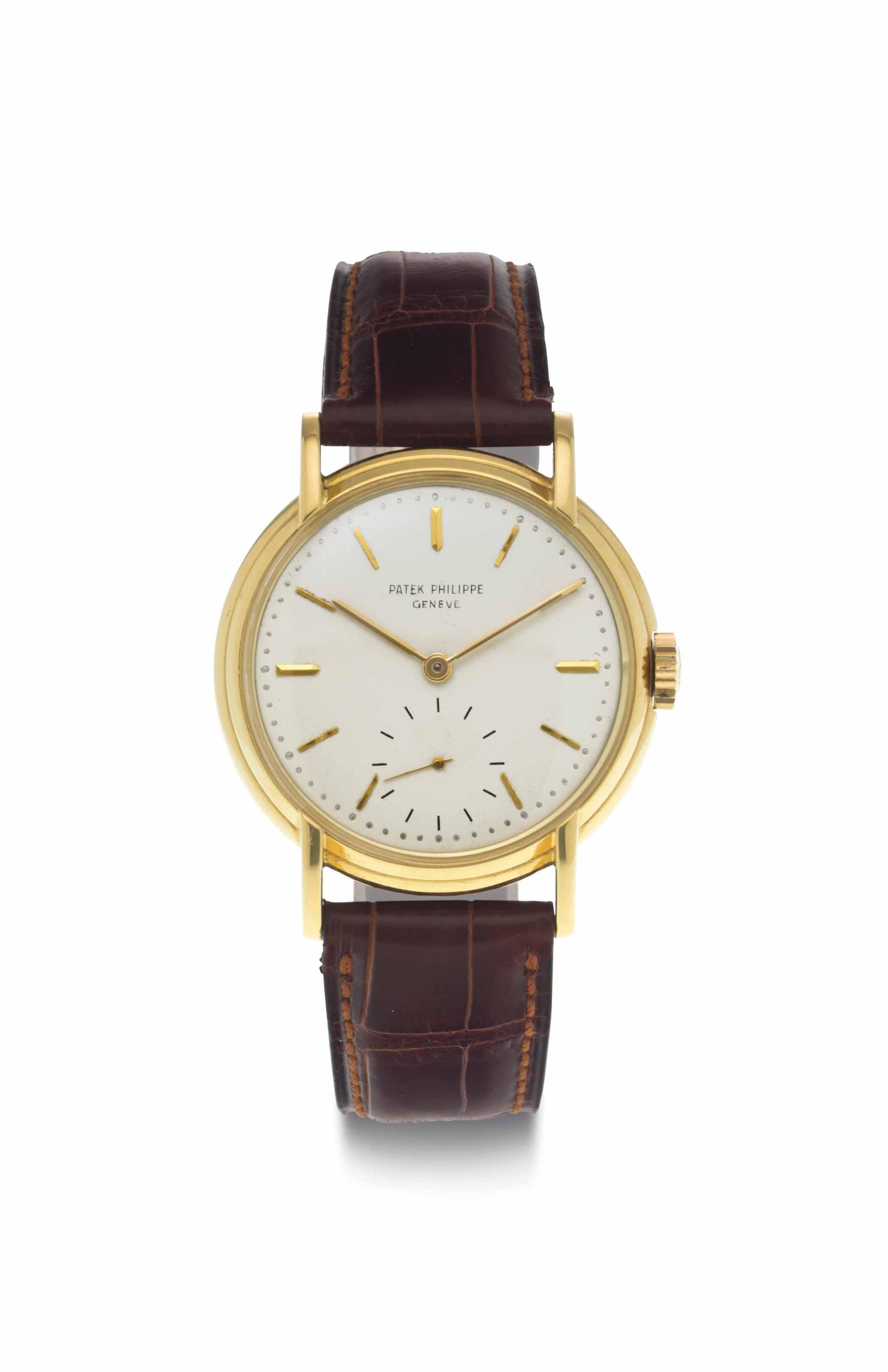 Patek philippe a fine and rare 18k gold wristwatch signed patek philippe geneve ref 2454 for Patek philippe geneve