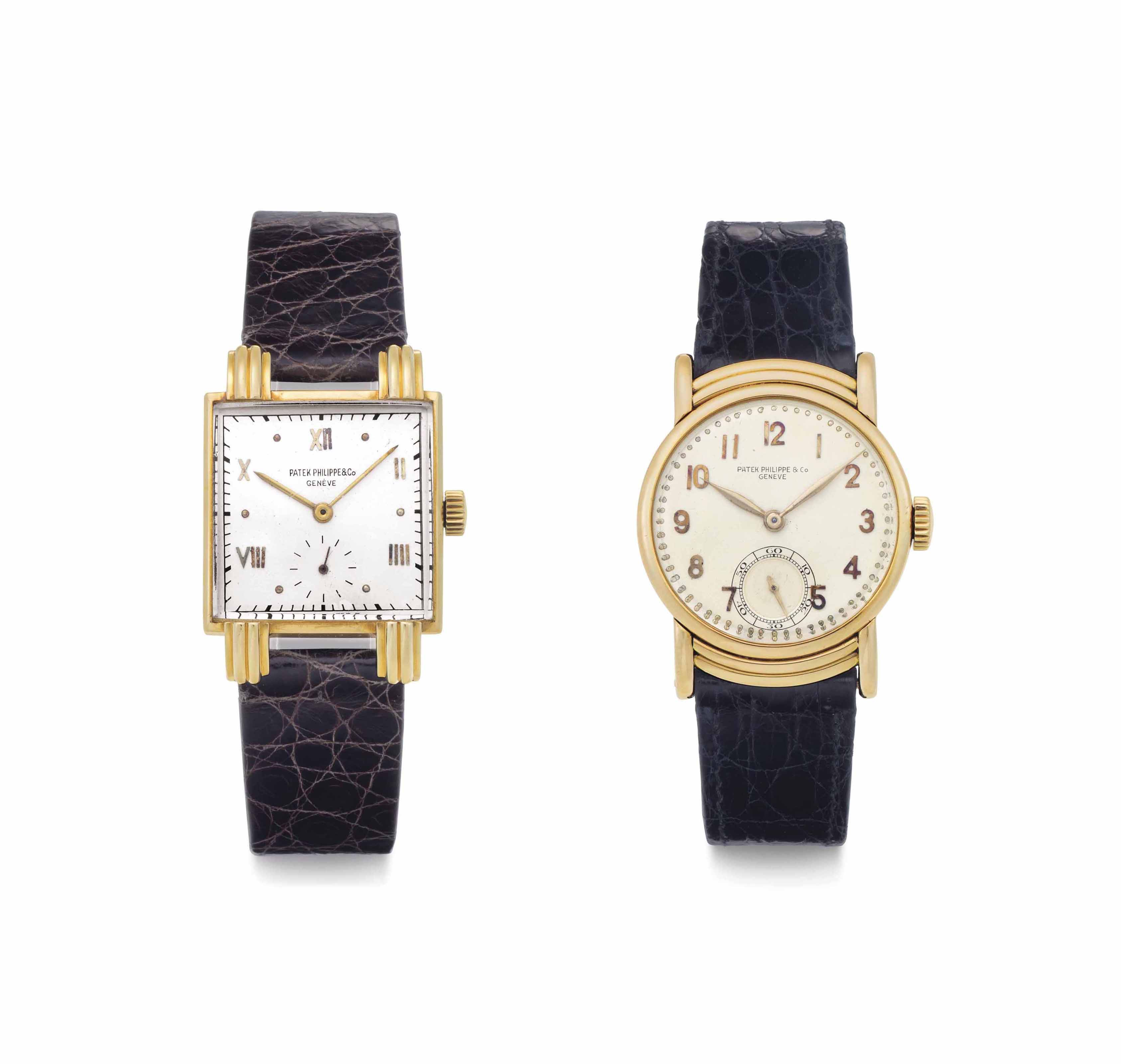 Patek Philippe. A Lot of Two 1